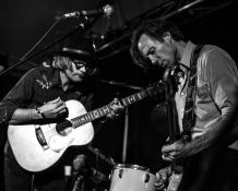 Mark and Jamie Hutchings. Pic By Brandon Jarrett